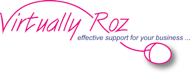 Virtually Roz company logo